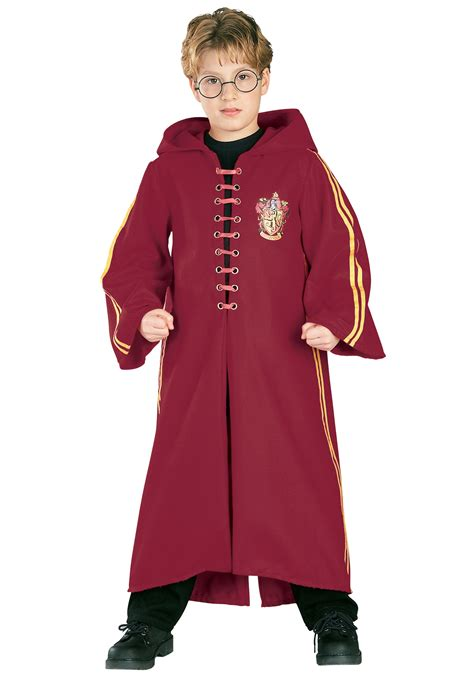 Deluxe Harry Potter Quidditch Costume - Authentic
