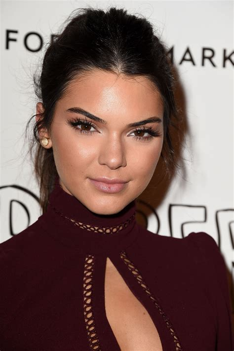 The Beauty Evolution of Kendall Jenner, from Glamour Girl