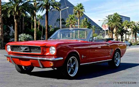 Ford Mustang Rental – Rent A Classic Mustang In Los