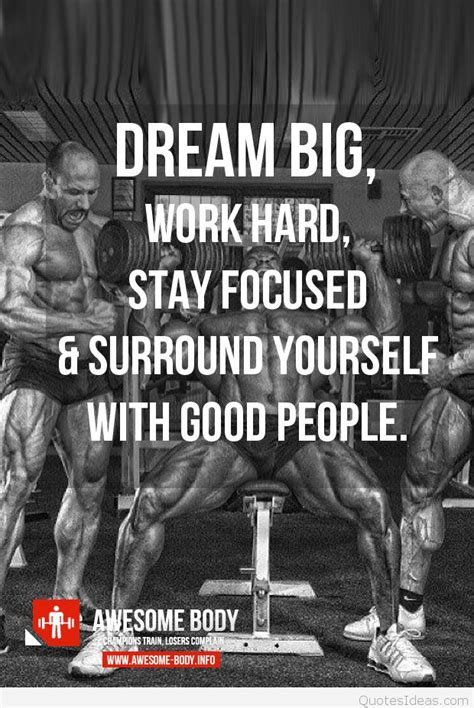 Cool bodybuilding motivational quote picture