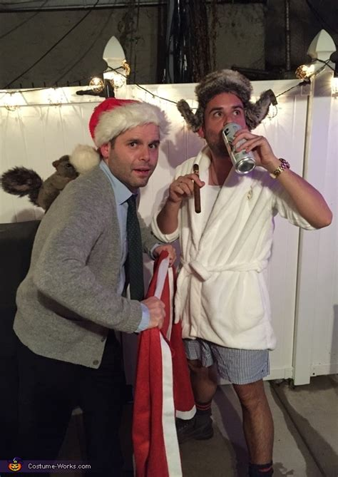 Christmas Vacation Clark and Cousin Eddie Costume