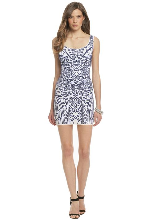 Puzzle Solver Dress by RVN for $138   Rent the Runway