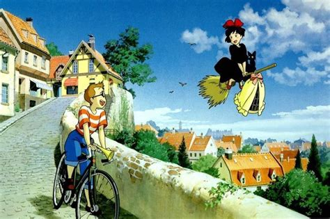 What countries are Studio Ghibli films set in