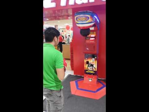 Ultimate Big Punch Deluxe Boxing Machine - Coin Operated