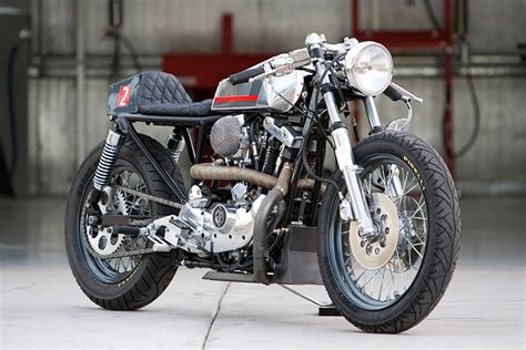New from DP Customs: The Harley-Davidson 'Naked Cafe