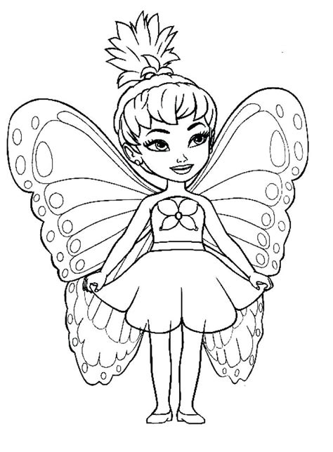 Sugar Plum Fairy Coloring Page at GetColorings