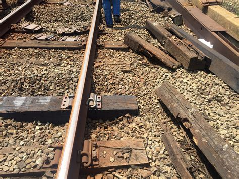 Worn rail ties ID'd as likely culprit for East Falls