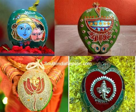 Coconut Decoration for Weddings –South India Fashion