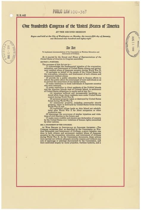 Today's Document • usnatarchives: In commemoration of the