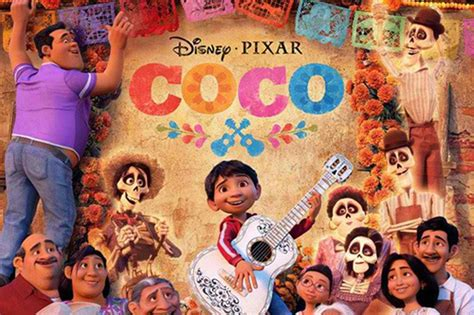 'Coco,' a lively take on the Day of the Dead, wins at box
