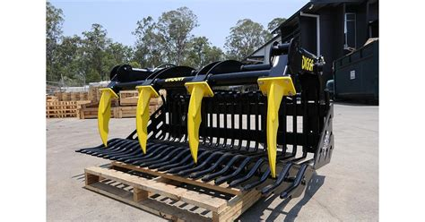 DIGGA ROCK BUCKET WITH GRAPPLE (1890MM) for sale