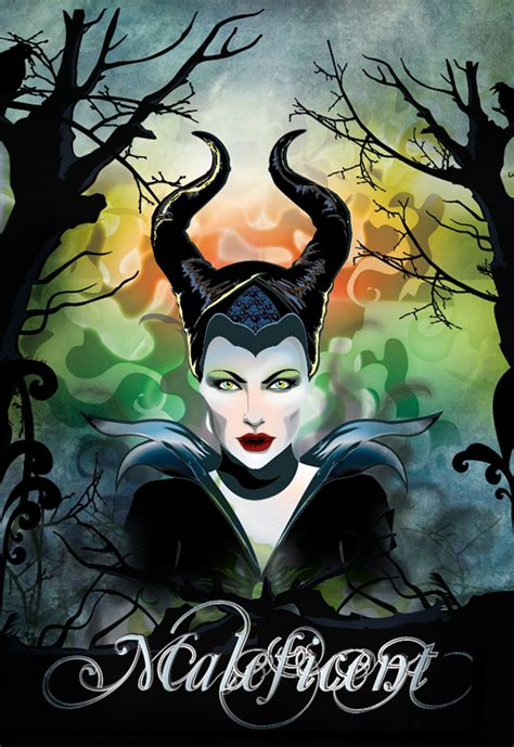 Maleficent Vector Poster on Behance