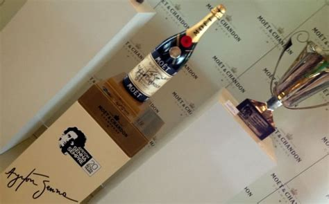 Moet and Chandon pays tribute to Formula 1 champion Ayrton