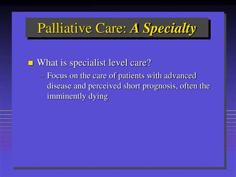 PPT - PALLIATIVE CARE: TRENDS AND TREATMENT PATHWAYS