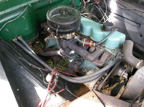 1965 Green Ford Truck 300 6 Cylinder 4 Speed Wood Flat Bed