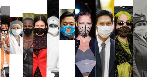 Fashion and Masks in the Age of Coronavirus - The New York
