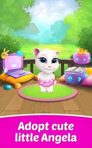 My Talking Angela » Android Games 365 - Free Android Games