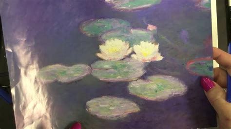 How to Draw Monet's Water-lily Pond - YouTube