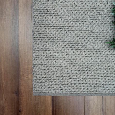 Smart Home Products 230 x 160cm Charcoal Sicilia Wool