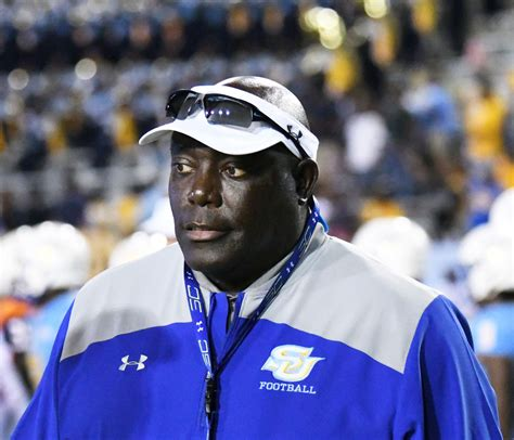 Southern football head coach Dawson Odums signs contract